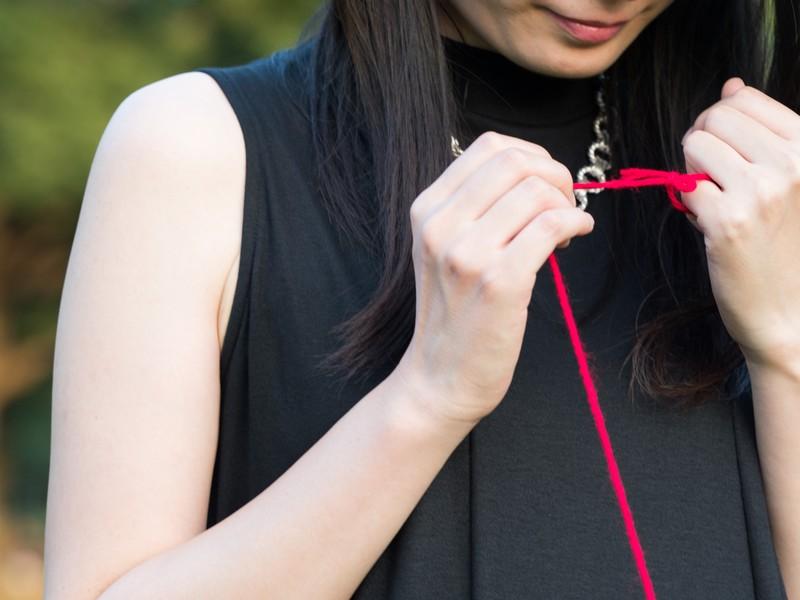 婚活 赤い糸