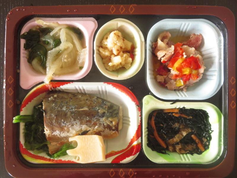 食宅便 低糖質セレクト 鯖の塩焼きと豚肉のハーブ添え 糖質3.1g 304カロリー