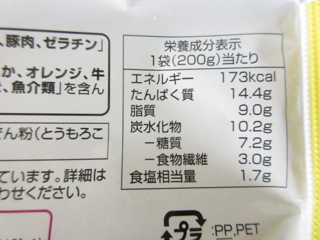 イオン トップバリュ おいしさと糖質のバランス 豚肉のしょうがだれ 冷凍弁当 栄養成分表示