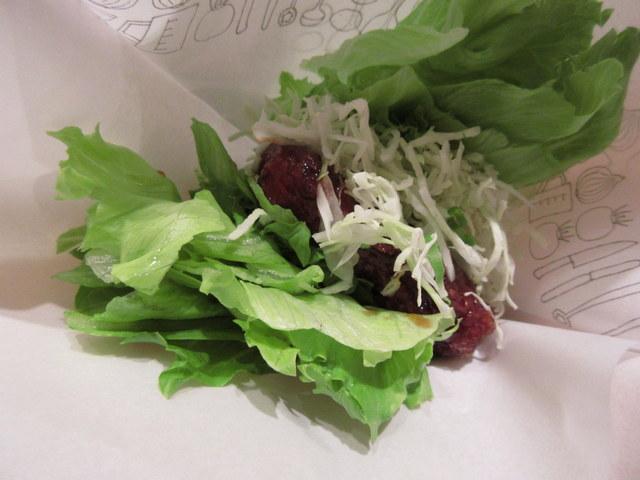 モスバーガー 低糖質メニュー 菜摘のロースカツバーガー