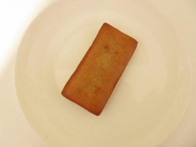 無印良品 糖質10g以下のお菓子 フィナンシェ