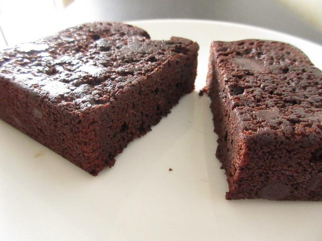 RIZAP(ライザップ) チョコチップケーキ 糖質16.1g 断面