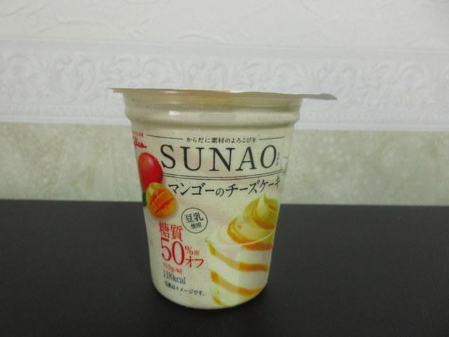 グリコ SUNAO マンゴーのチーズケーキ